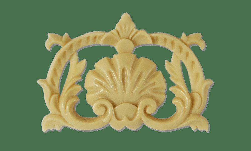 Полиуретановый декор для мебельных фасадов под пленку ПВХ Л-18