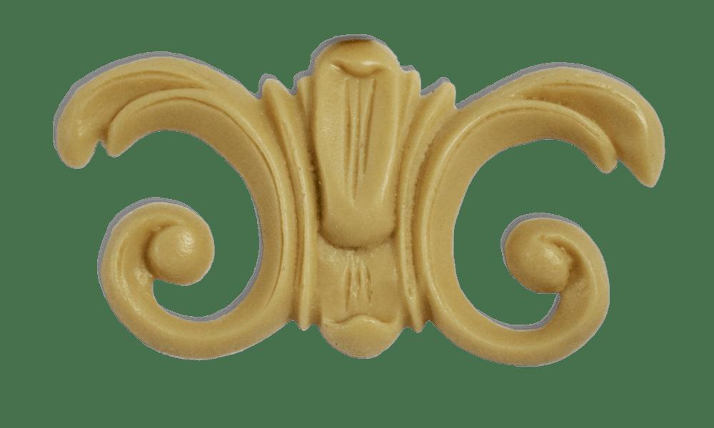 Полиуретановый декор для мебельных фасадов под пленку ПВХ VO-12