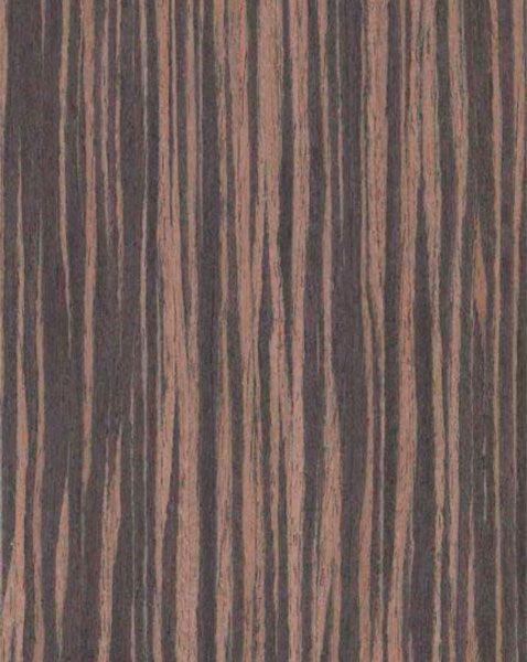 Шпон Fine-Line Хебран амароне для мебельных фасадов МДФ