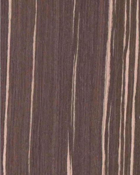 Шпон Fine-Line Зебрано капучино для мебельных фасадов МДФ