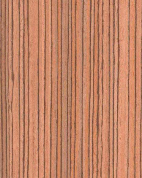 Шпон Fine-Line Зебрано для мебельных фасадов МДФ