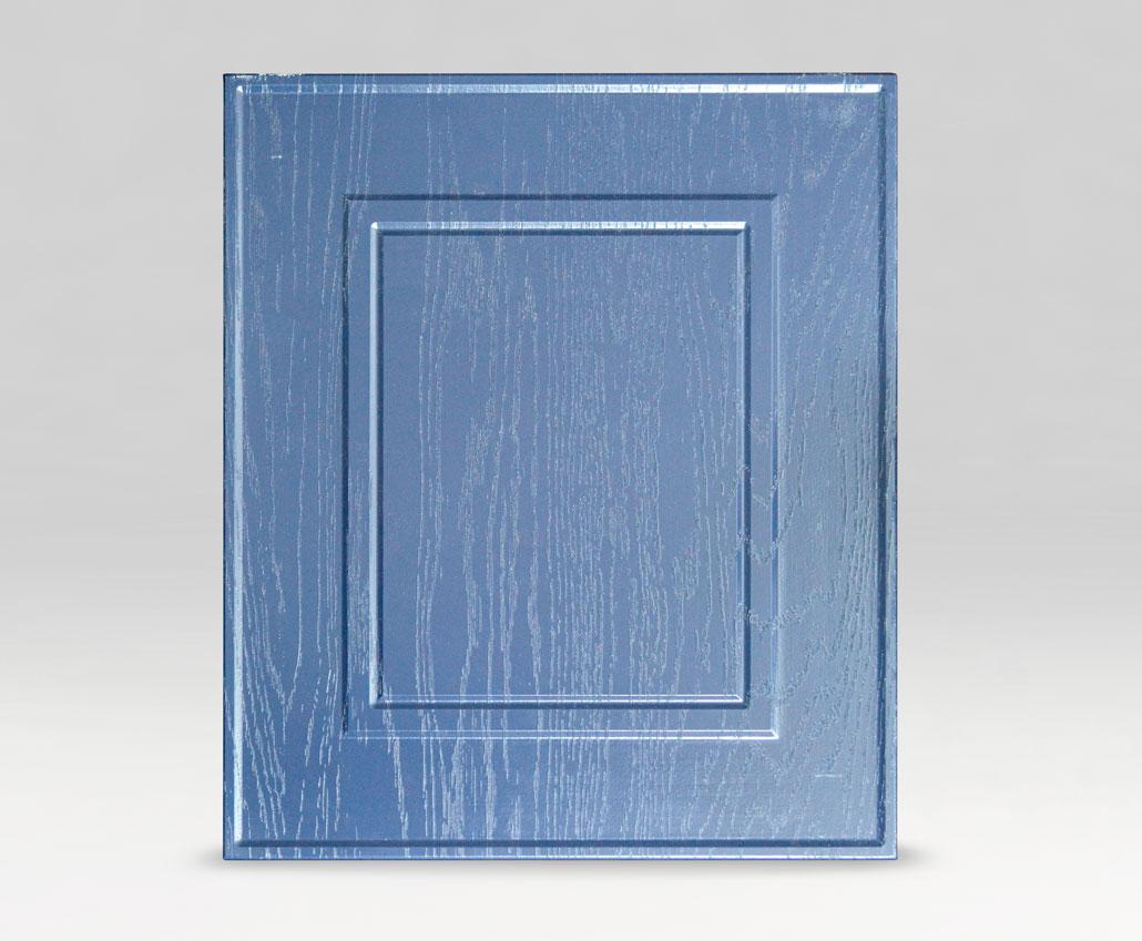 Меблевий фасад Брістоль, ПВХ Дуб синій, периметр R3