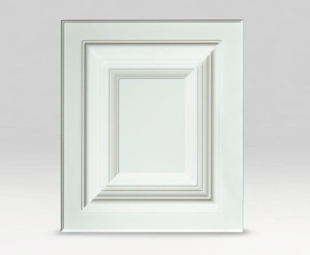Меблевий фасад Палермо, ПВХ Soft-touch світлий сірий, периметр РCУ