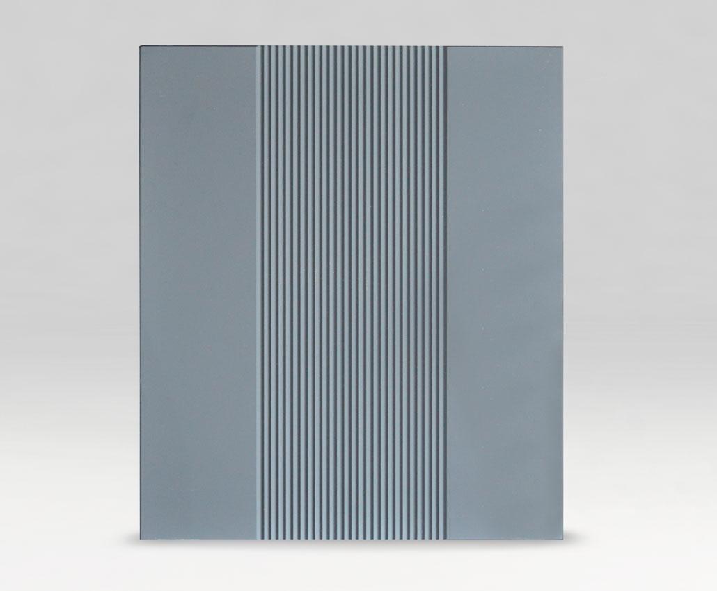 Меблевий фасад Арізона, ПВХ Soft-touch елегантний сірий, периметр R3