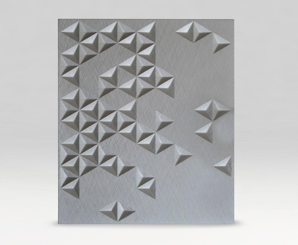 Меблевий фасад 3D Ріо, ПВХ Браш вершковий, периметр R3