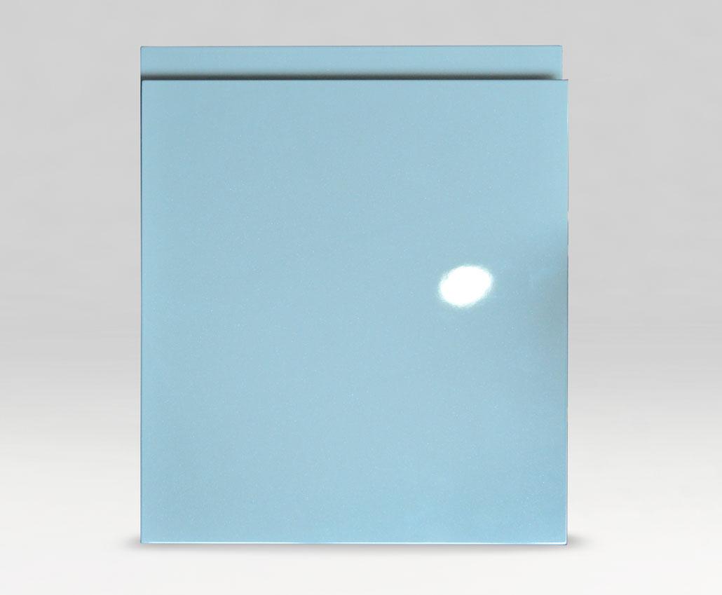 Меблевий фасад Ручка-J, Фарба, МДФ 18 RAL 7046, з ефектом перламутру глянець, периметр R3