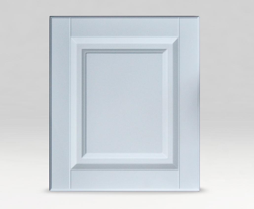 Меблевий фасад Доміно, Фарба, МДФ 16 Білий базовий, матова, периметр РCУ