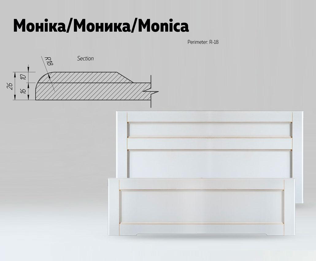 Быльца для кровати Моника