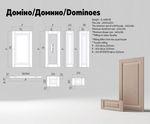 Техническое описание фасада МДФ серии Экстра от Полифасад - Домино