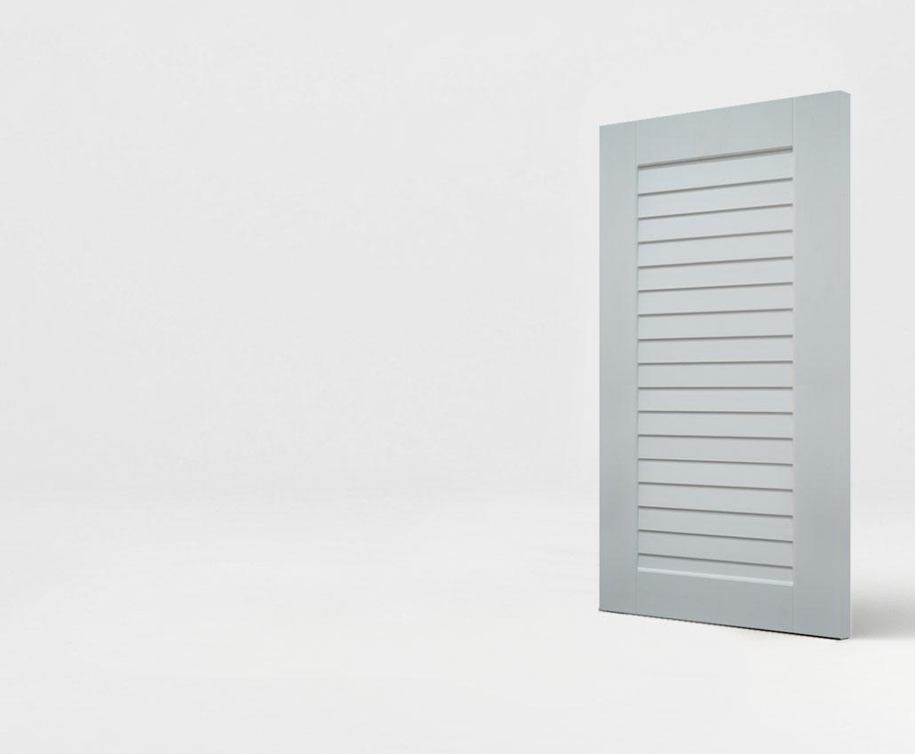 Мебельный фасад МДФ Жалюзи новые серии Престиж от Полифасад