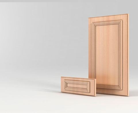 Мебельный фасад МДФ Мане серии Престиж от Полифасад