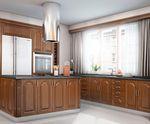 Кухня с фасадами МДФ серии Экстра от Полифасад - Милана М1