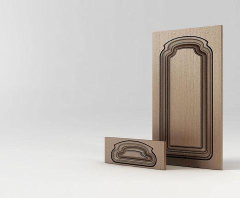 Мебельный фасад МДФ Милана М1 серии Экстра от Полифасад
