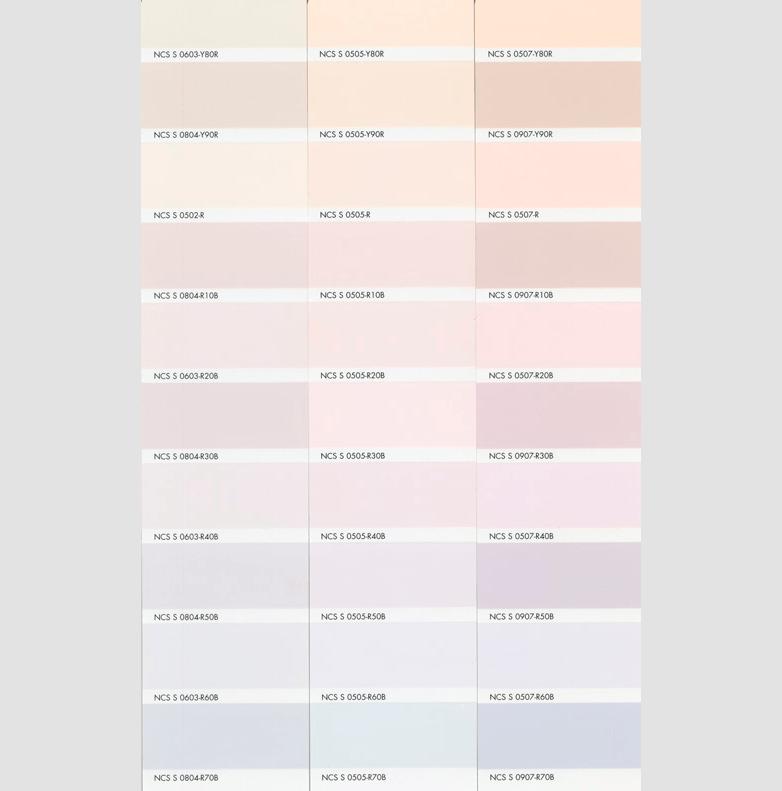 Каталог цветов NCS