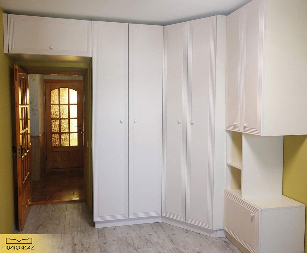 Кухня с мебельными фасадами Силена от Полифасад
