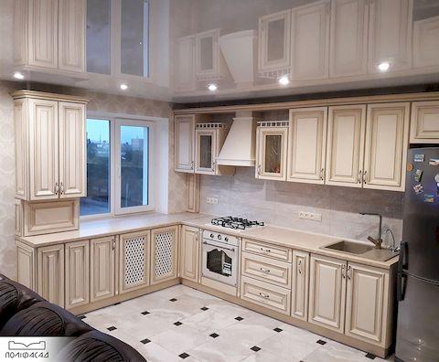Кухня с мебельными фасадами Палермо от Полифасад