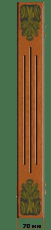 Мебельная пилястра П2 + К1 для кухонь с фасадами Полифасад