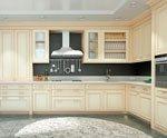 Кухня с фасадами МДФ серии Престиж от Полифасад - Марсель