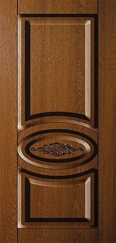 Дверная накладка МДФ с декором на металлические двери AD2