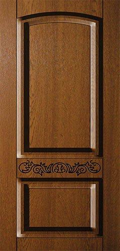 Дверная накладка МДФ с декором на металлические двери AD4