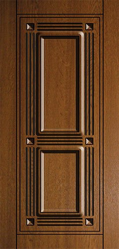 Дверная накладка МДФ с декором на металлические двери AD5
