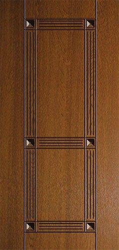 Дверная накладка МДФ с декором на металлические двери AD6