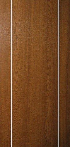 Дверная накладка МДФ с металлической прожилкой на металлические двери MV4