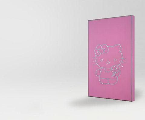 Мебельный фасад для детских комнат Китти