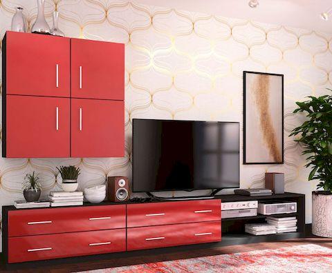 Крашеный мебельный фасад с матовым покрытием