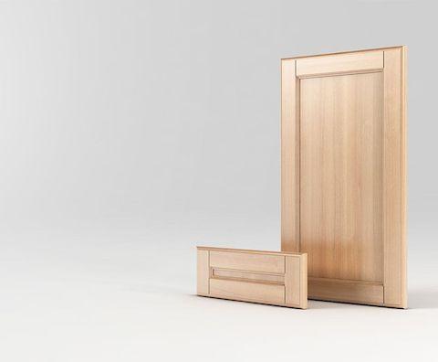 Мебельный фасад с массива дерева Бруно