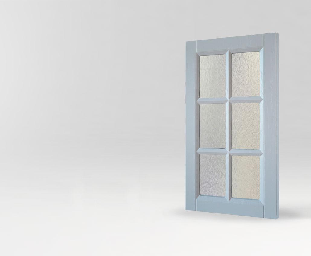 Фрезерованная мебельная витрина Франческа для кухни и мебели от Полифасад