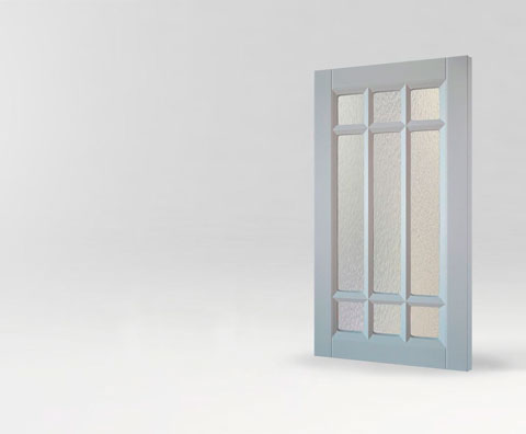 Фрезерованная мебельная витрина Греда для кухни и мебели от Полифасад