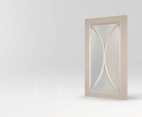 Фрезерованная мебельная витрина Милада для кухни и мебели от Полифасад