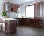 Кухня с массива дерева Неаполь