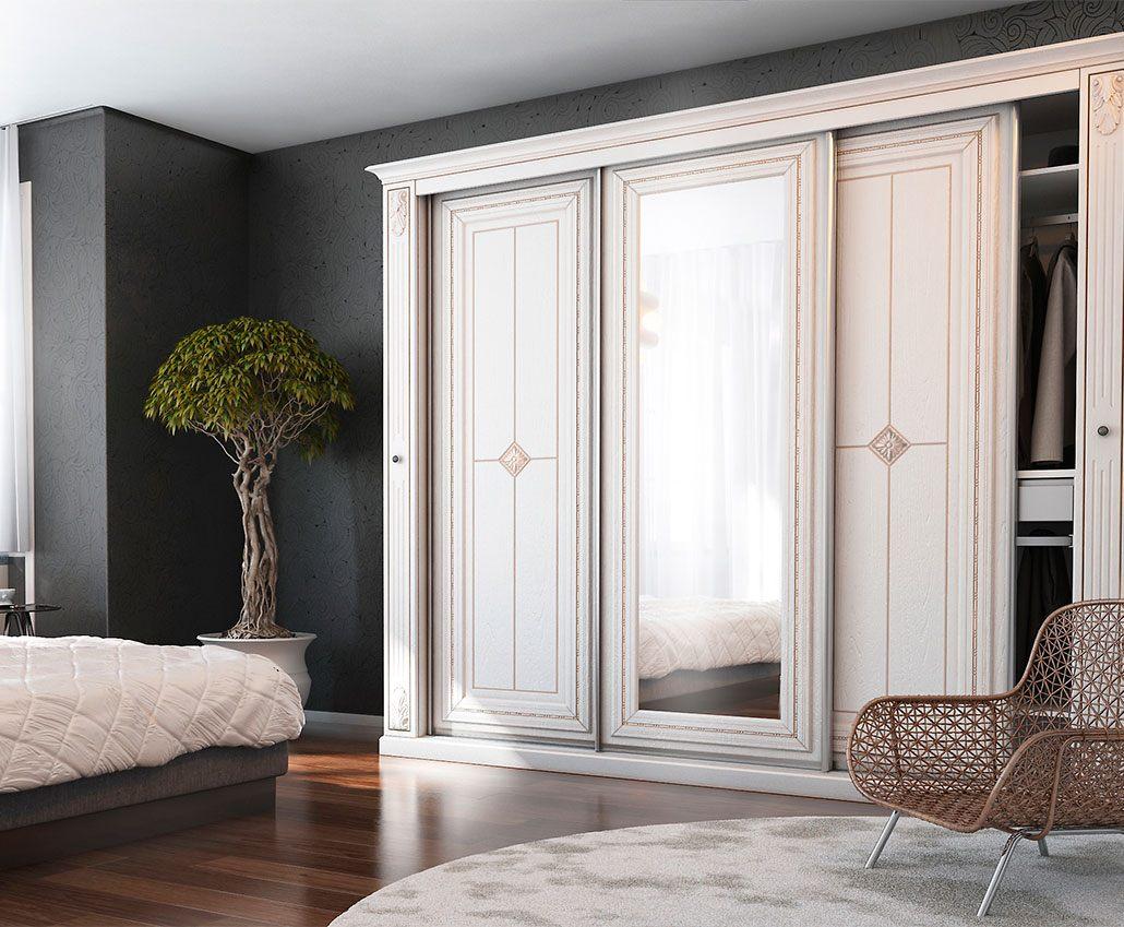 Шкаф с раздвижными дверями Лаура