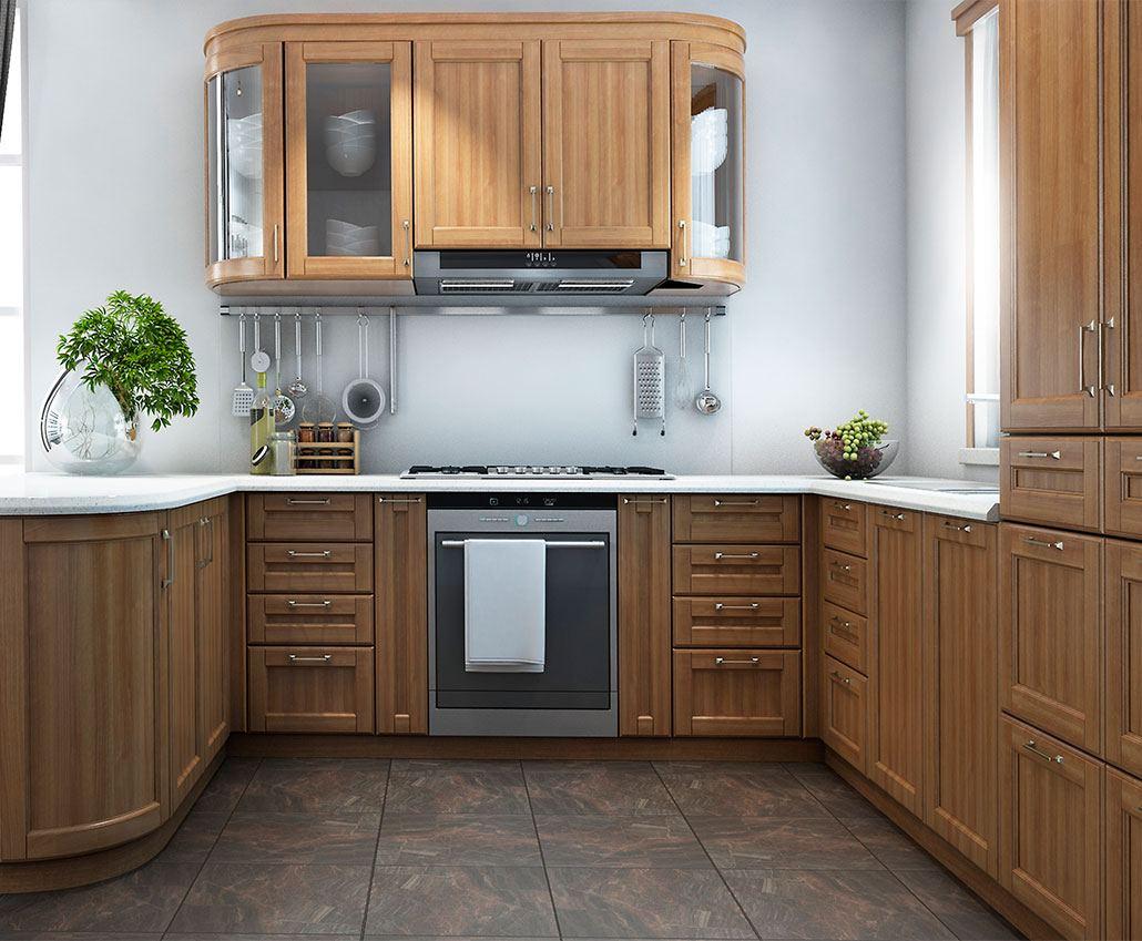 Кухня с массива дерева Бруно