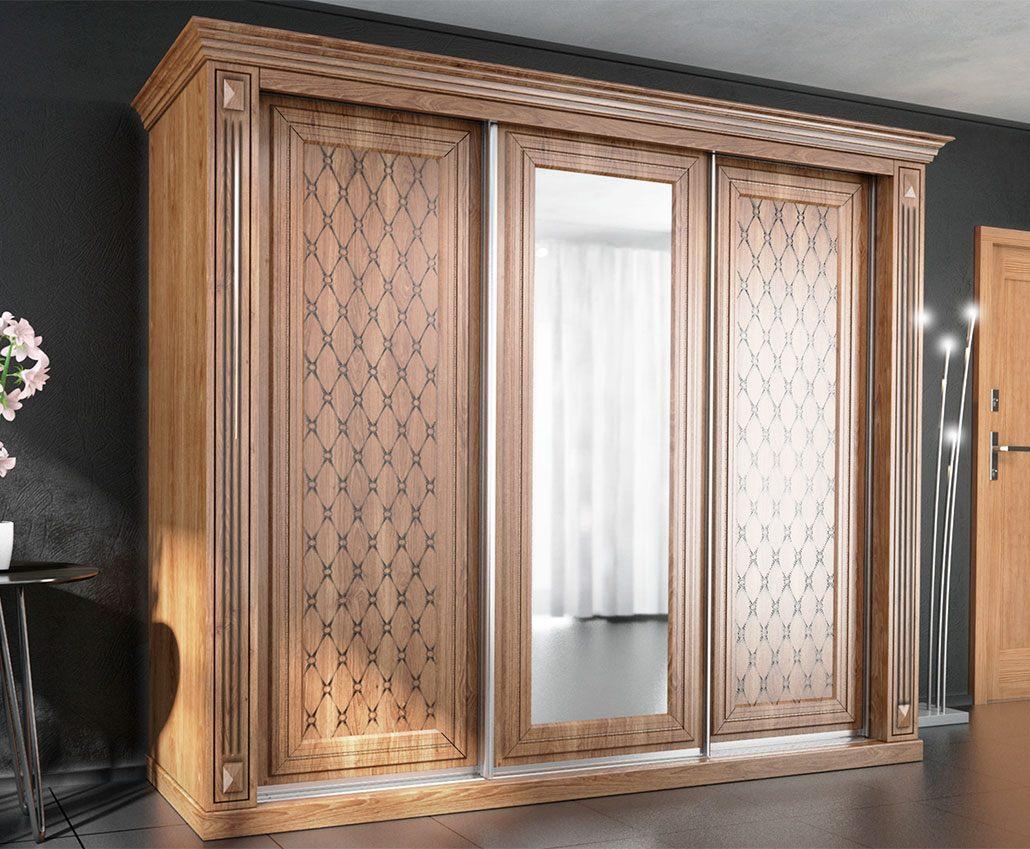Шкаф с раздвижными дверями Ненси