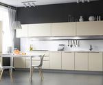 Кухня с фасадами МДФ Ручка-Z