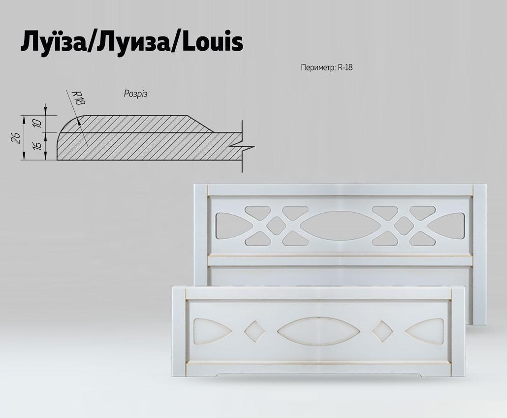 Быльца для кровати Луиза