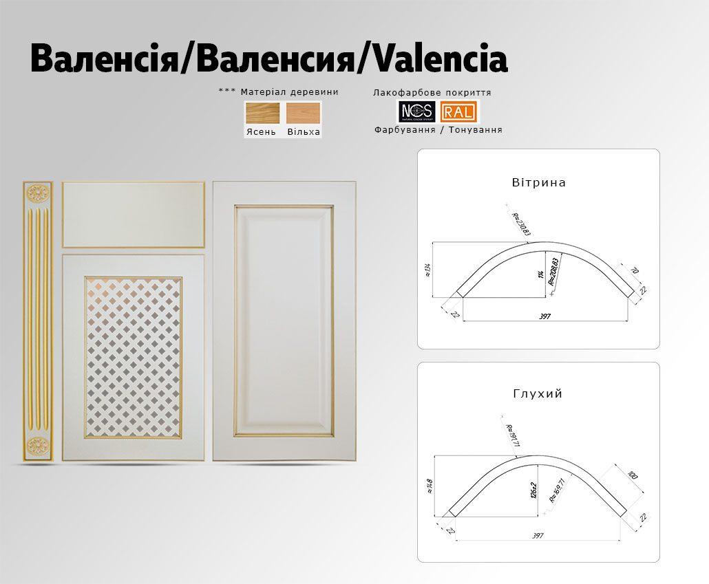 Техническое описание фасада с массива дерева Валенсия
