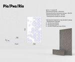Техническое описание фасада МДФ серии Экстра от Полифасад - Рио